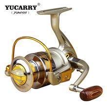Hot Sale Wheels Fish Spinning Reel 5.5:1 12Ball Bearing Carretilhas De Pescaria Molinete Fishing Reel Accessories 500-9000series цены онлайн