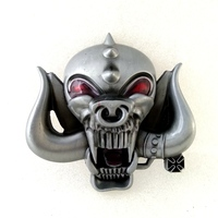Promotional Sales British Rock Band Motorhead Belt Buckles For Men Belts Skull Buckle For Belt Accessories