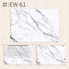 цены на Laptop Sticker for Xiaomi Mi Notebook Air 12 13 Pro 15.6 White Marble Vinyl Decal Skin for Xiaomi Gaming Notebook 15.6 inch Case  в интернет-магазинах