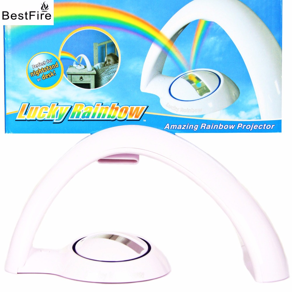 Bestfire led light Rainbow projection lamp of the second rainbow projection lamp of the second generation rainbow projector