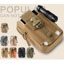Military Molle Small Bag Outdoor Waist Fanny Pack Camoufalge Tactical Waist Pack