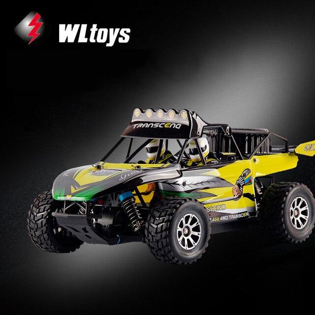WLtoys K929 1/18 Escala 4WD RC Coche de Carreras de Alta Velocidad 50 km/h 2.4 GHz de Control Remoto de Coches Juguetes para Los Niños