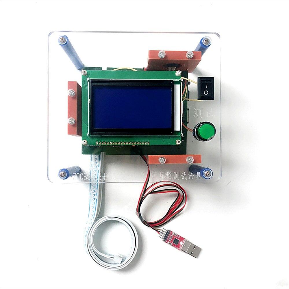 Kit de montage d'essai de Hashboard pour le banc d'essai d'outil de réparation de puce de mineur de panneau de hachage S9 T9 T9 + avec le programme de montage d'essai de carte de TF