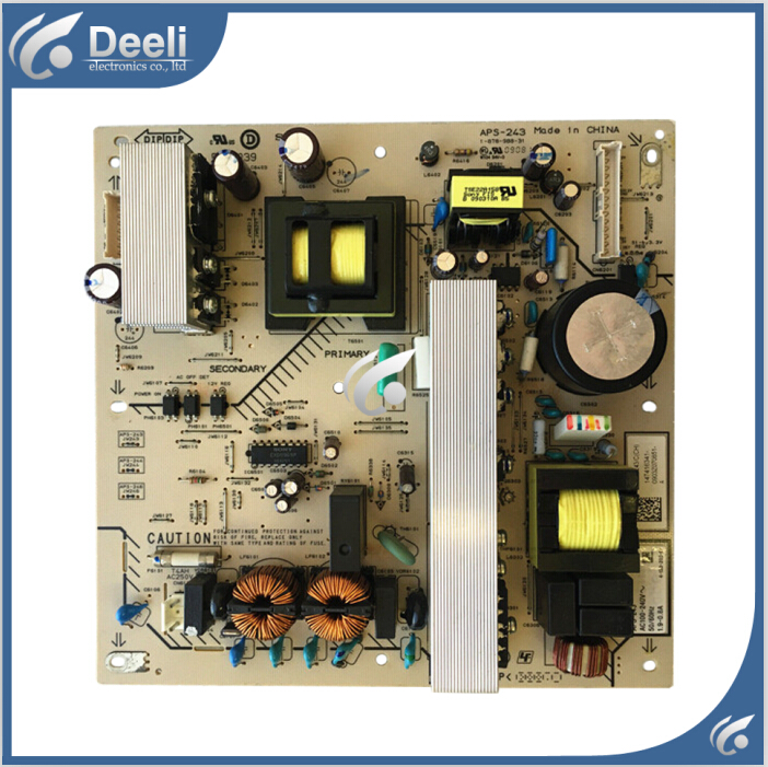 100% New for Original motherboard KDL-32V5500 power supply board APS-243 1-878-988-31 board good working zaful sexy swimwear women gold stamping bathing suit bikini set swimsuit strapless padded push up bandeau summer beachwear
