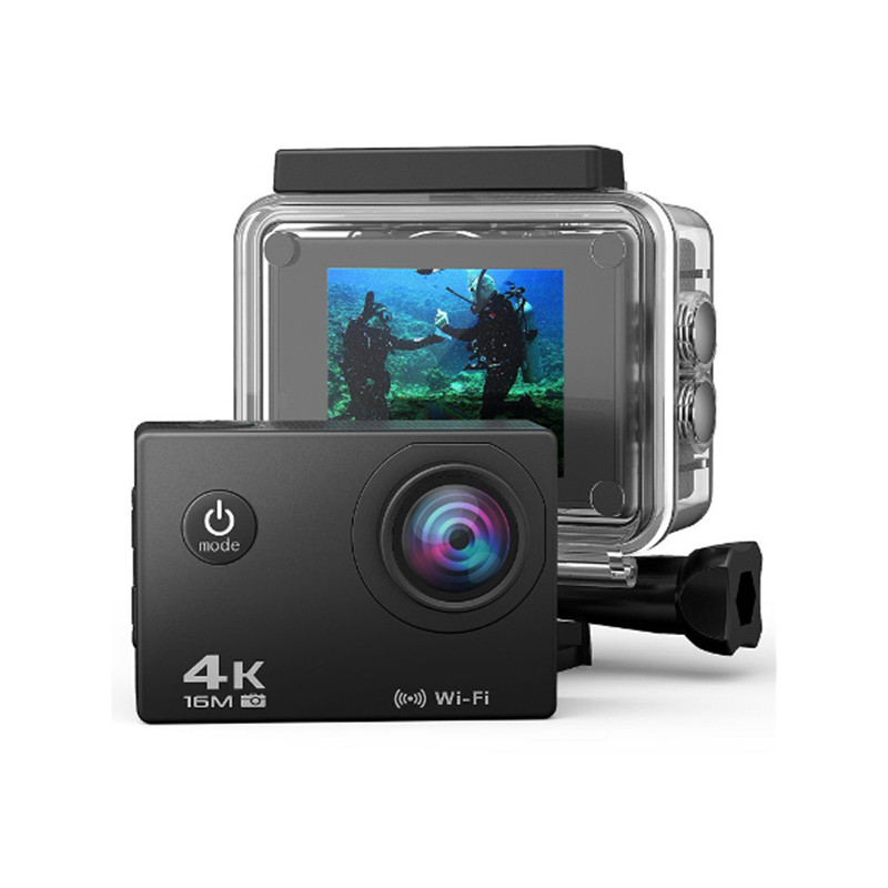 AT-30R 4K 170 Degree Wide Angle Ultra HD WiFi Sports DV FPV Action Camera With 2.4G Remote Control RC Model