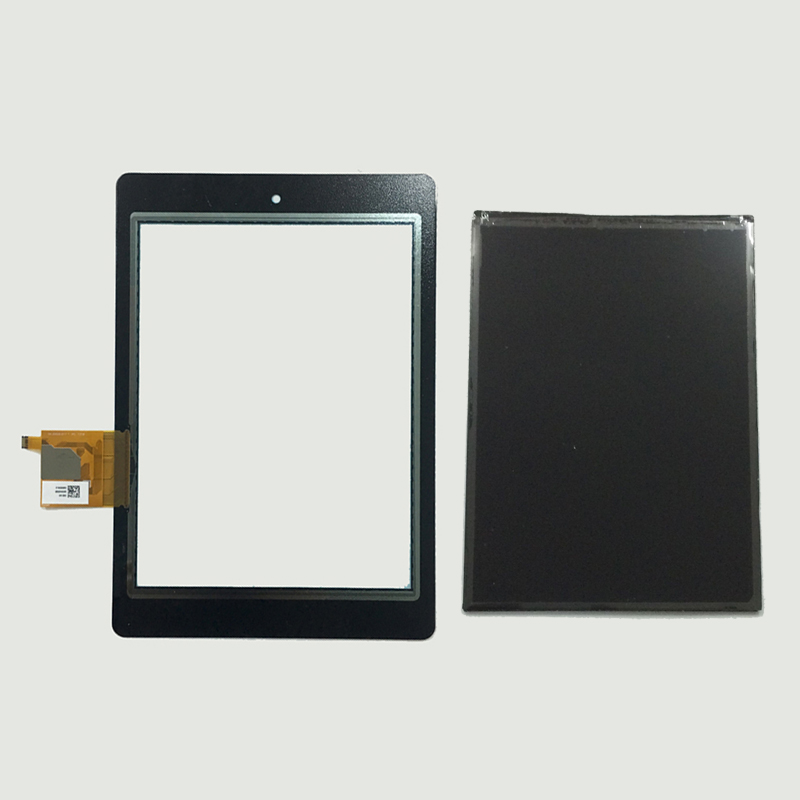 Black For Acer Iconia Tab A1-810 A1 810 A1-811 A1 811 Touch Screen Digitizer Sensor Glass + LCD Display Panel Monitor lb104v03 a1 lb104v03 lcd displays