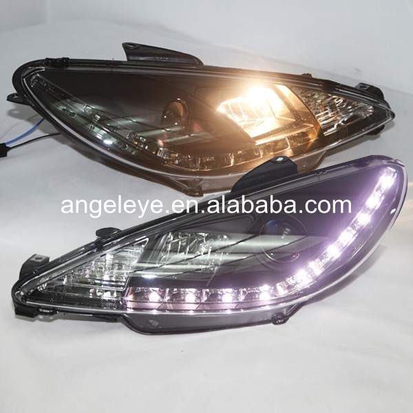 For Peugeot 206 1998-2004 year LED Head Lamp LED SN цены онлайн