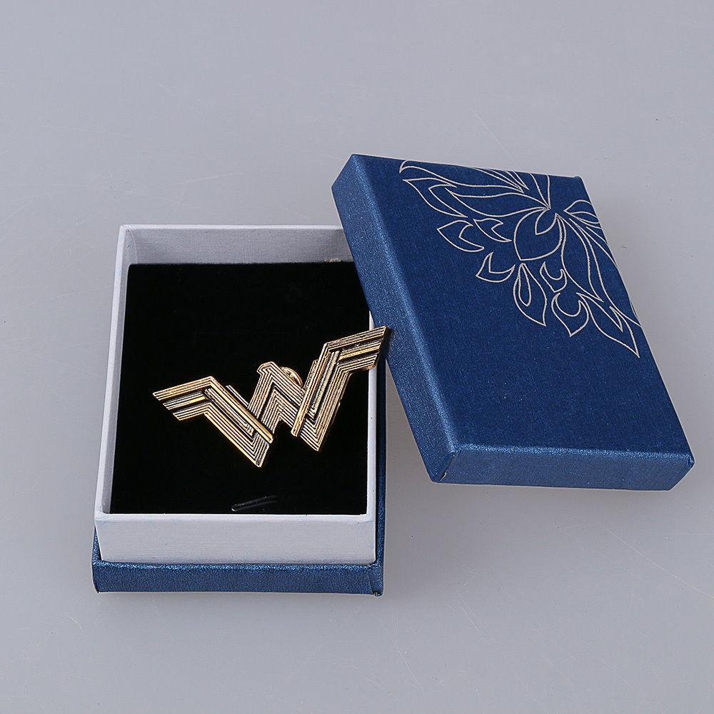 2017 Movie Wonder Woman Superhero Diana Prince Badge Metal Brooches Pin Halloween Carnival Cosplay Accessories Prop Adult Women (4)