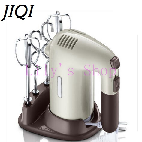 JIQI Automatic Multifunction household electric Dough mixer handheld Eggs Beater Blender whisk whipping cream cake baking tools mini automatic electric blender egg stirrer baking beat egg blenders cream paste stiring whisk dough kneadin dough mixer
