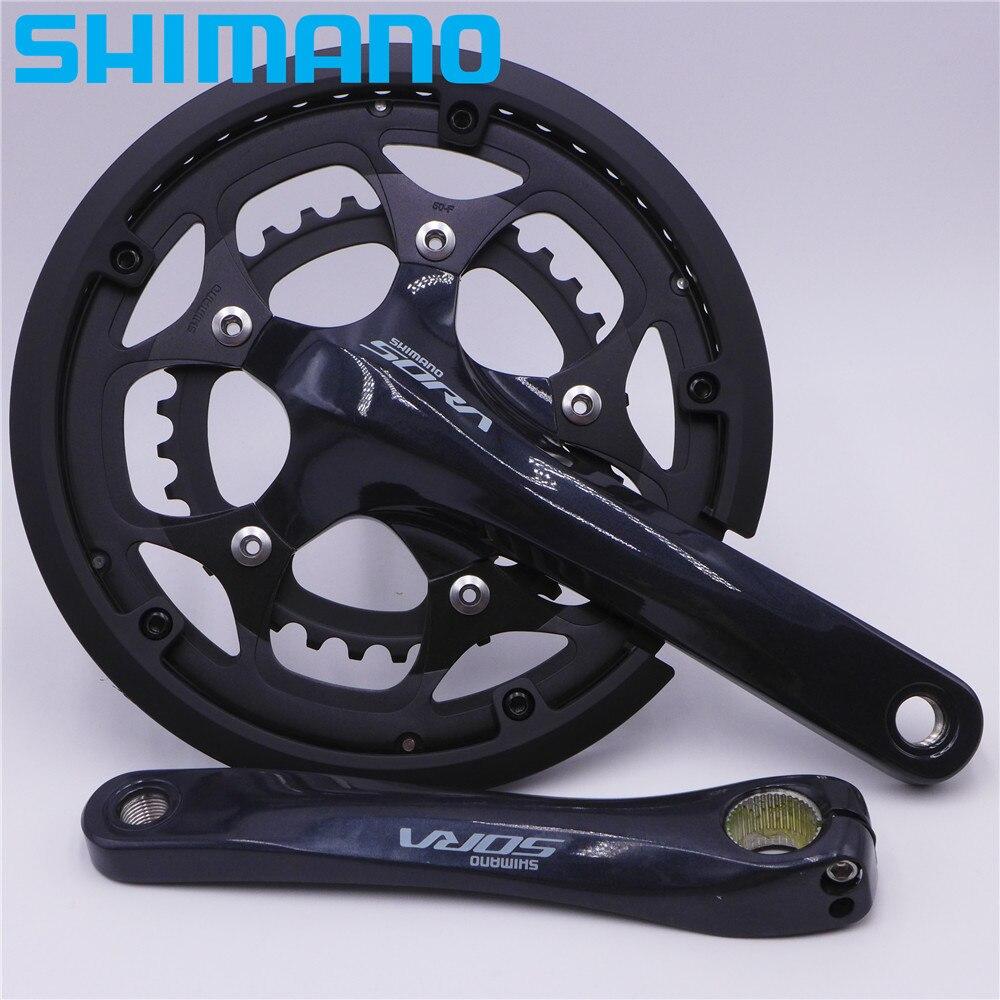 SHIMANO SORA FC R3000 vélo de route pédalier roue à chaîne 50-34 T FC-R3000-CG pour 9 vitesses