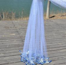 American Style Cast Net Catch Fishing Network With Ring Folding Small Mesh Outdoor Sport Fly Hand Throw Fishing Net