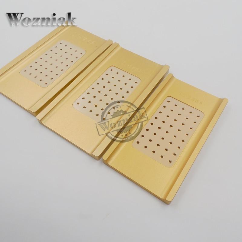 imágenes para Wozniak para samsung s6 edge s7 edge borde de reparación pantalla táctil máquina separadora de lcd molde molde de metal molde de vacío