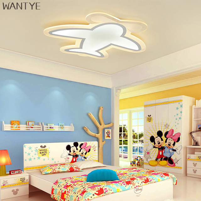Kids ceiling lighting Ceiling Lamp New Kids Ceiling Light Fixtures Modern Children Bedroom Ceiling Lamps Led Surface Mounted Luminaires Plafond Cartoon Plane Aliexpress New Kids Ceiling Light Fixtures Modern Children Bedroom Ceiling