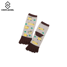 Frog and crocodile New Fall Toes Socks Fashion Cotton