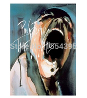 Yeni Özel Çılgın Pink Floyd Klasik Moda Şık Ev Dekor Retro Yüksek Kaliteli Poster (50x76 cm) duvar Sticker U1-356