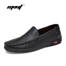 цена на High Quality Nature Leather Men Flats Shoes, Fashion Lace Up Driving Shoes Men Loafers Moccasin Handmade Men Casual Shoes