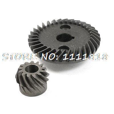 Electric Power Tool Spiral Bevel Gear Set for Dragon 03-100 Angle Grinder electric spiral bevel ring pinion angle grinder gear set for hitachi 100