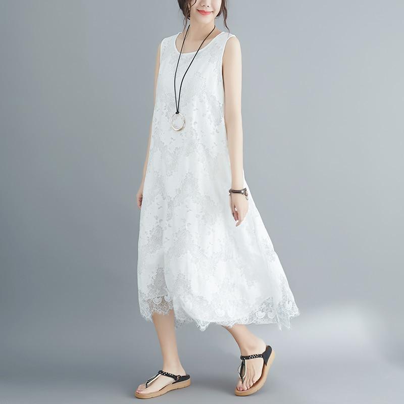 8920 # однотонные белые мягкие кружево длинное платье для беременных Oversize свободные летняя модная одежда для беременных для женщин Черный Тан...