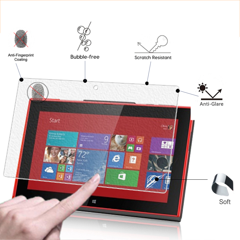 Premium Anti-Glare Screen Protector Film Matte Film For Nokia Lumia 2520 10.1