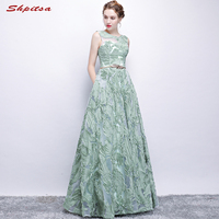 Mint Green Lace Mother of the Bride Dresses for Weddings A Line Evening Dresses Groom Godmother Dresses