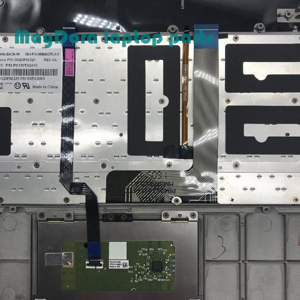 Laptop parts for LENOVO YOGA 3 pro 1370 Palmrest with