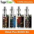 Original Eleaf iStick Pico RESIN Kit 75W w/ Melo 3 Mini Tank 2ml and 75W Pico Resin Box Mod Electronic Cigarette Random Color