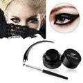 Top Quality Professional Waterproof Eye Liner Eyeliner Shadow Liquid Gel Fantasy Makeup Cosmetic Brush Brown tool kits