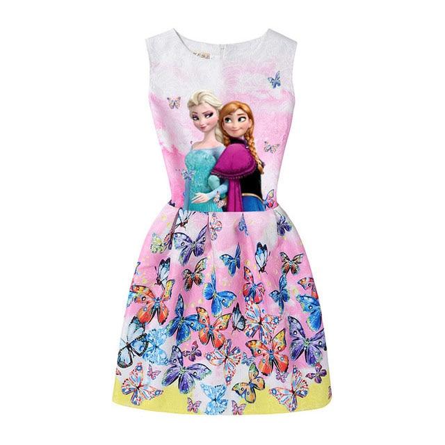 2017-Summer-Style-Girls-Elsa-Anna-Princess-Dresses-Girl-Butterfly-Printed-Sleeveless-Formal-Girl-Dresses-Teenagers-Party-Dress-4