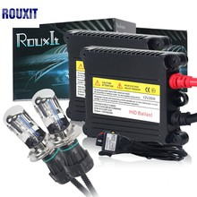 цена на 35w H4 HID Hi/lo Bixenon kit H4 bi xenon h4 flexible high low dual beam 4300k 6000k 8000k Bi-xenon hid kit H4-3