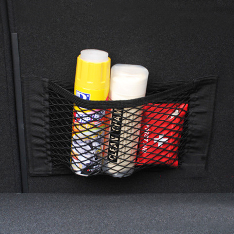 Coffre de voiture En Nylon Corde Net/bagages net avec support Pour Mitsubishi Asx Outlander Lancer EX Pajero Evolution Eclipse Grandis