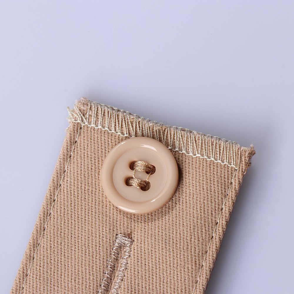 1 Pc Pantaloni Stretti Dei Jeans Gonne Maternità Pulsante Ganci Lavabile Gadget Unisex Fascia In Vita Mutanda Extender Cintura Accessori di Abbigliamento