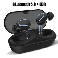Wireless Headphones Bluetooth Earphone Bluetooth 5.0 Mini True Stereo In ear Earbuds With HD Mic For Samsung Xiaomi iPhone