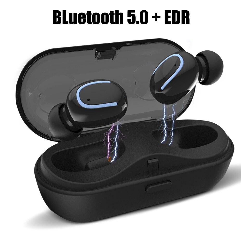 Drahtlose Kopfhörer Bluetooth Kopfhörer Bluetooth 5,0 Mini Echte Stereo In ear Ohrhörer Mit HD Mic Für Samsung Xiaomi iPhone