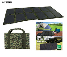 ФОТО GGX ENERGY Folding Kits 120 watt Monocrystalline Solar Panel Solar Cell Solar Powered 12V Battery Charger for 4x4 and Camping