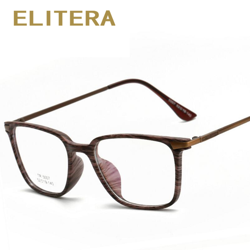 ELITERA 2018 New Fashion Men Women Eyeglasses Frames TR90 Frame High Quality Men Reading ...