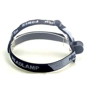 Image 3 - Tinhofire Portable Adjustable Gray Head Strap Mount Headband For LED Headlight Headlamp Flashlight Torch Lamp Light With O Ring