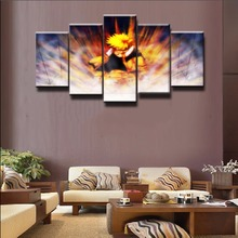 Hot Sel 5 Piece Modern Home Decor Naruto Cuadros Decoracion Paintings on Canvas Wall Art for Decorations Artwork