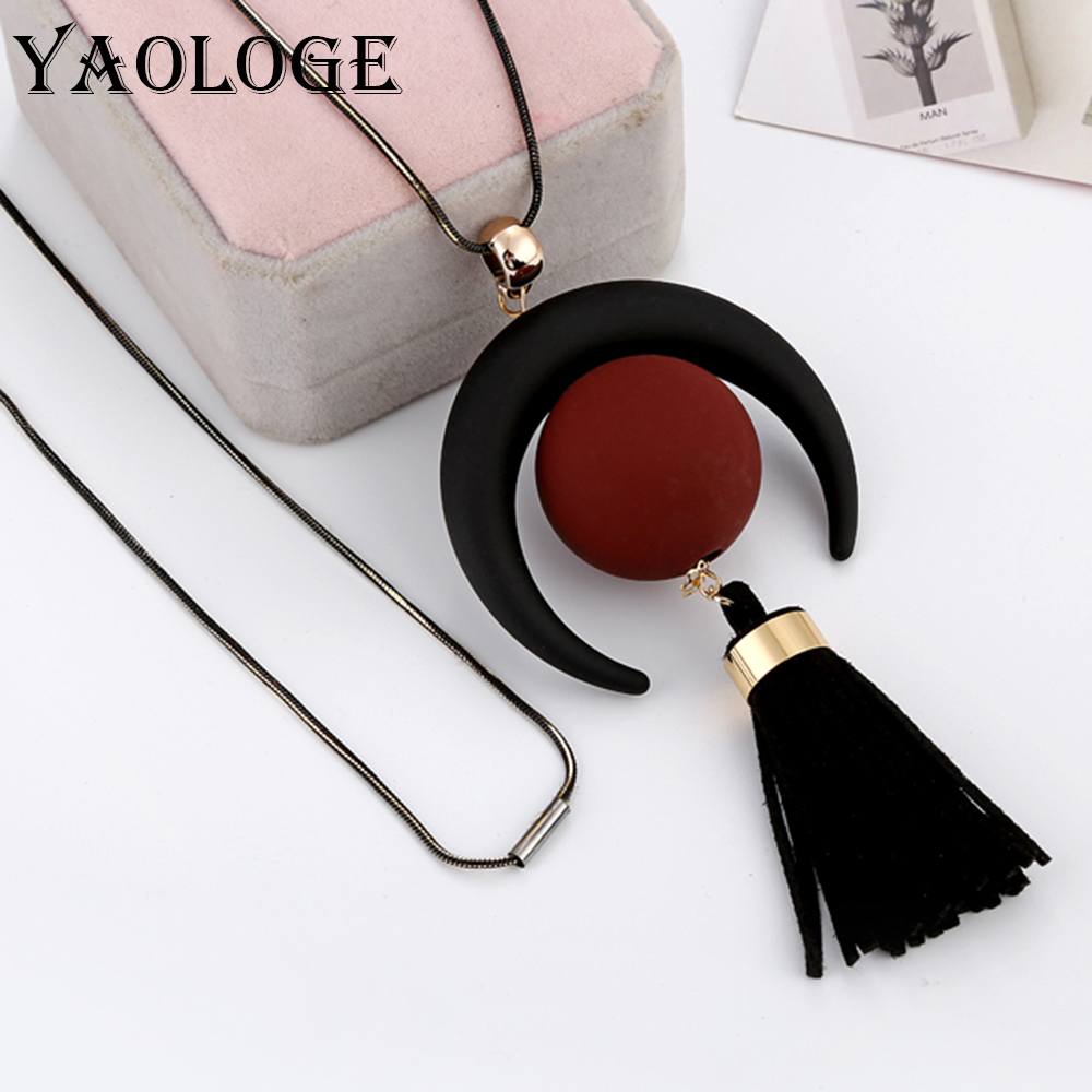 YAOLOGE Creative Necklace...