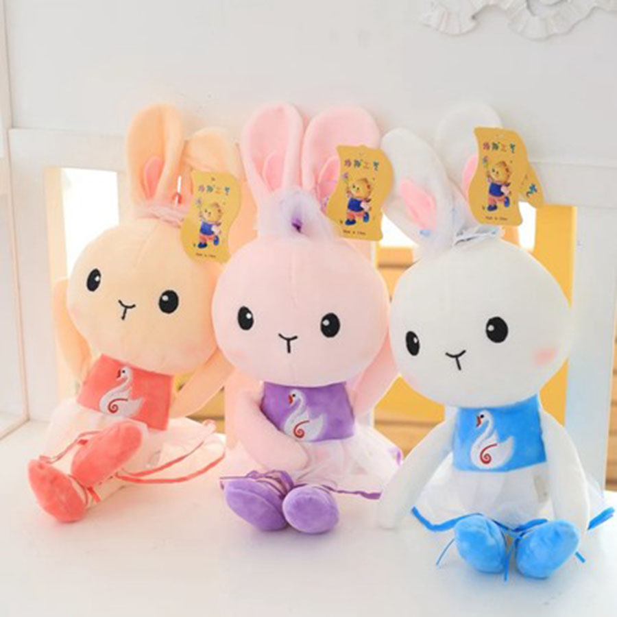 Cute Plush Stuffed Animals Rabbits Peluche Kawaii Rabbit Doll Soft Cute Gifts For Girls Stuffed Animals With Big Eyes 70C0321 original projector lamp an xr10lp for sharp pg mb66x xg mb50x xr 105 xr 10s xr 10x xr 11xc xr hb007 xr 10xa