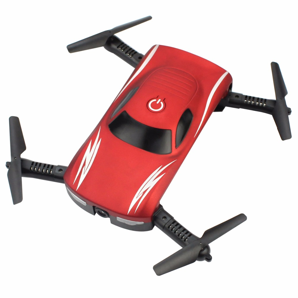 Foldable Drone Rc-Quadcopter Selfie Camera Altitude-Hold Voice-Control Wifi FPV Phone