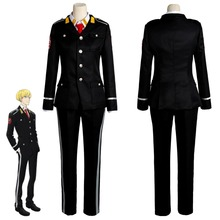 ACCA:13-ku Kansatsu-ka Jean Otus Owl Knot Cosplay Costume Outfit Uniform Suit Halloween Carnival Costumes For Adult Men Women