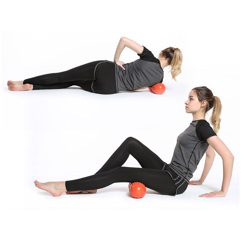 30 11cm Myofascial Release Fitness Peanut Massage Ball Fascia