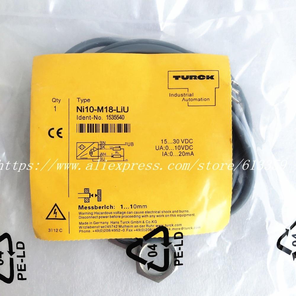 NEW TURCK NI8-M18-AP6X//S120 PROXIMITY SENSOR SWITCH