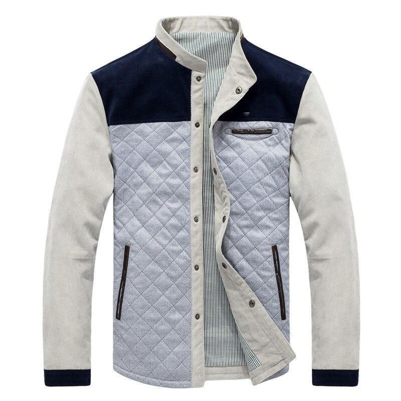 Mountainskin Spring Autumn Men's Jacket Baseball Uniform Slim Casual Coat Mens Brand Clothing Fashion Coats Male Outerwear SA507 2