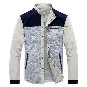 Image 3 - Mountainskin wiosna jesień męska kurtka strój baseballowy wąski płaszcz w stylu Casual męskie ubrania marki modne płaszcze męskie odzież wierzchnia SA507