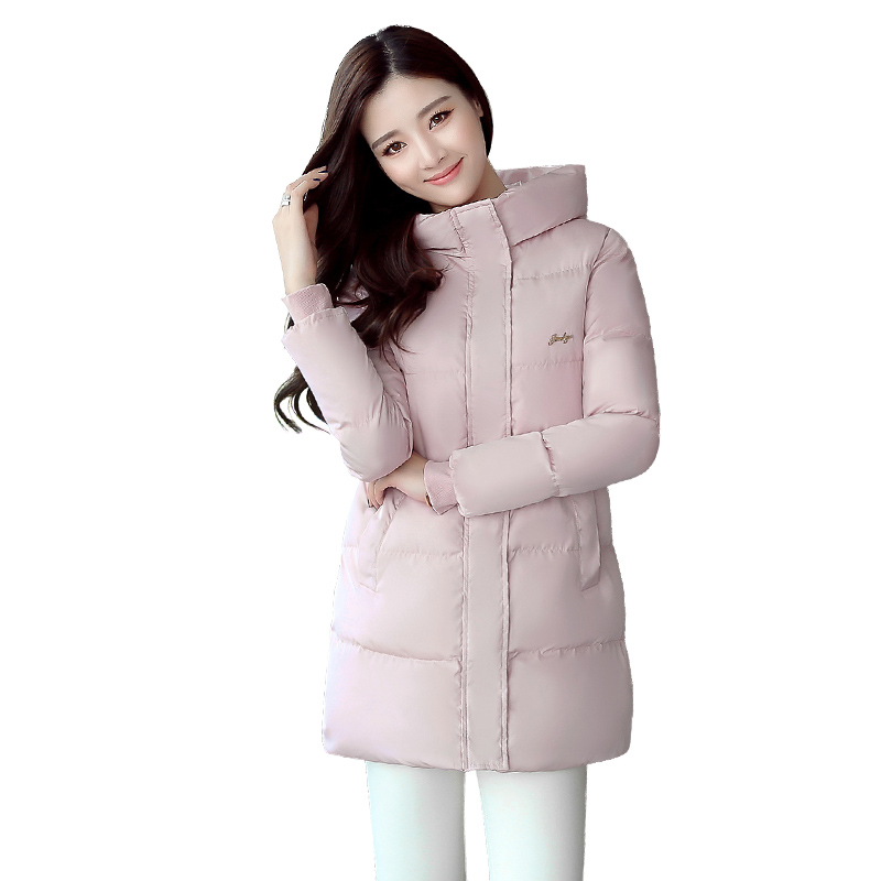 2017 new Winter Coat Women Winter Jacket Cotton Padded Plus Size Female Long Coat Winter Jackets M-6XL BS5355-2 2016 new long winter jacket men cotton padded jackets mens winter coat men plus size xxxl