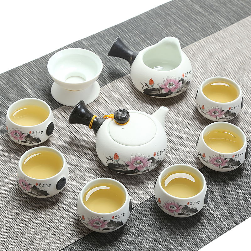 New Jingdezhen Exquisite Ceramic Teapot Kettles Tea Cup Porcelain Chinese Kung Fu Tea Set Drink Ware