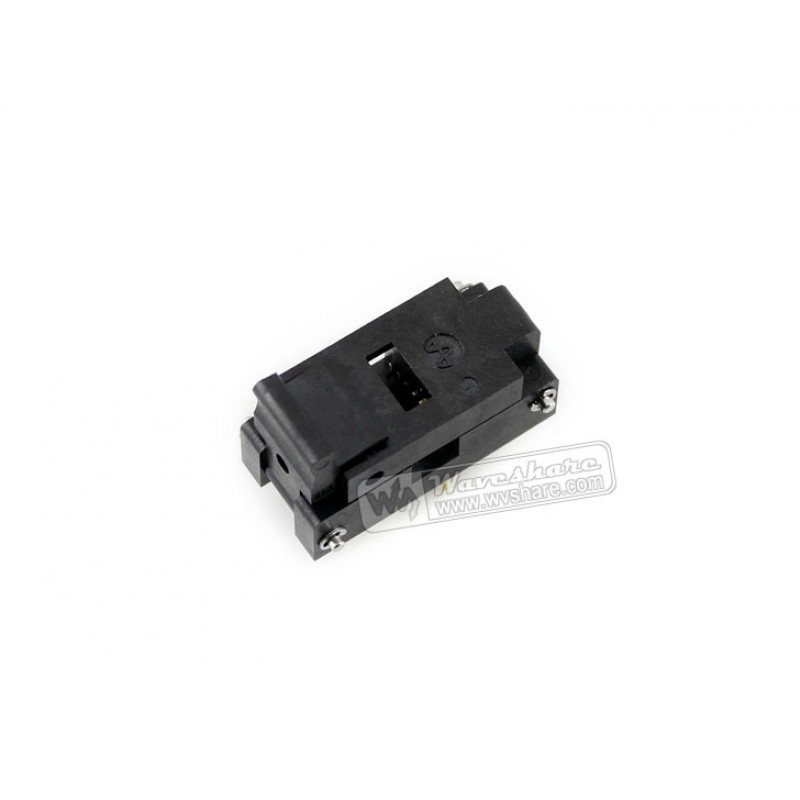 SOP16 SO16 SOIC16 IC51-0162-271-1 Yamaichi IC Test Burn-In Socket Programming Adapter 5.5mm Width 1.27mm Pitch bios sop16 soic16 original straight test clip pin pitch 1 27mm universal body programming clip test clamp