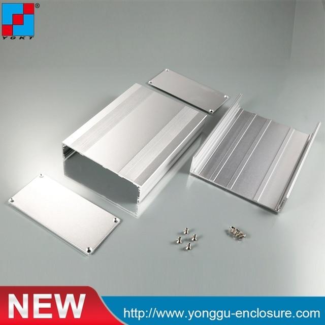 US $7 5 |YGS 018 145*54 95mm WxH L aluminium box electronics /case  enclosures for electronics diy amplifier enclosure-in Connectors from  Lights &
