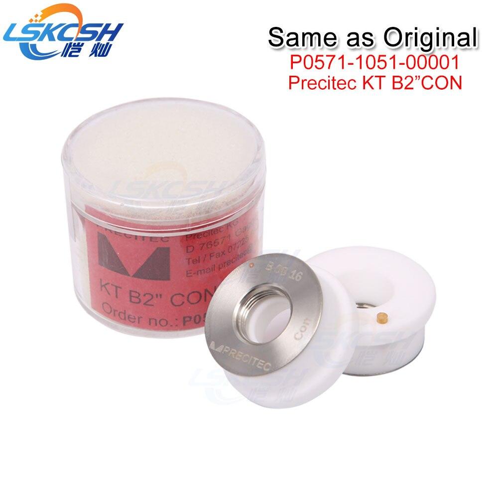 LSKCSH 2018 Year New Precitec Ceramic Nozzle Holder KT B2 CON P0571 1051 00001 Same as